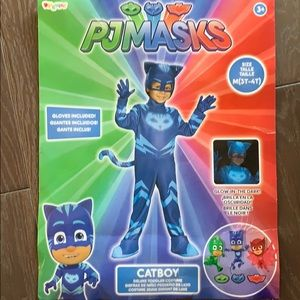 PJ Masks Catboy kids Costume 3T-4T.